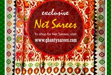 Exclusive Sarees / Visit our website  www.ghantysarees.com