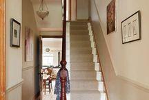 Jonathan's hall stairs landing