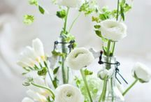 White flower decorations
