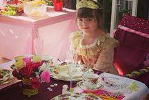 Jaydas 6 birthday / Princess party