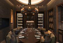 Weinladen / Weinregale, Boardingroom, Bühne/ Podest,Paletten- Interior design, Flaschenpräsentation....