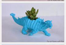 DIY: Dinoart