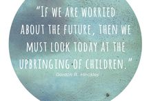 Parent Tribe Quotes / Little quotes we love - to inspire holistic, creative, loving parents. Designed with love by us xx