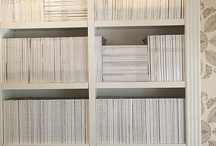 Shelving / For accessories and novels.  Products and ideas on different ways to display