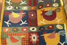Quilts applique
