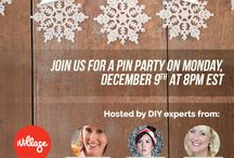 HoliDIY / Ready to get your holiday DIY on? Join experts from iVillage, The Naptime Chef, Paper & Stitch, and  Hi Sugarplum! to get our favorite holiday DIYs that we promise you can do! Follow this board and use hashtag #HoliDIY to get in the holiday spirit.