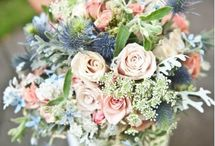 Louise and John / September 2014 - Country style wedding including Australian and British grown flowers.