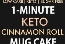Dessert keto