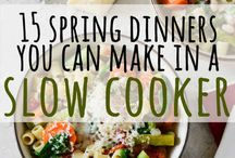 Spring Recipes / As the flowers bloom and cold weather drifts away, give these tasty recipes a shot!
