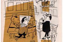 retro cartoon