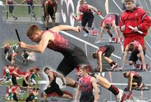Track and Field Collages / Guys and Gals Athletes that I photographed
