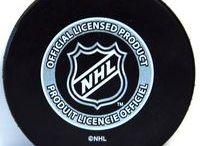 Ice Hockey    Pucks / Diffrent designs of NHL pucks including team pucks