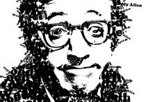 Ritratti letterali -Type Art / portrait very important person in type art Font Lettere Ritratti