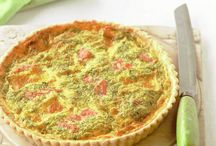 savoury pies, quiches and tarts