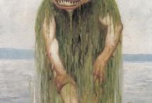 Draug, hulder, norwegian mythical creatures