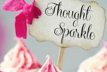 Thought Sparkle / … Thought Sparkle - psychic readings: gourmet cupcakes for the mind ❤ www.thoughtsparkle.com   #thoughtsparkle www.thoughtsparkle.com  / by Jo Brothers