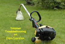 weed trimmer repair