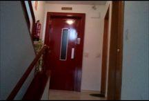 Pintado Puertas Ascensores / Ver mas fotos de pintado de barandillas en la web: https://pinturasurbano.wordpress.com/fotos/pintado-puertas-ascensores/