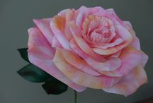 Handmade paper roses / Handmade paper roses - visit my etsy store! www.etsy.com/uk/shop/PaperalchemyStudio