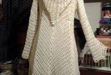abrigos en crochet