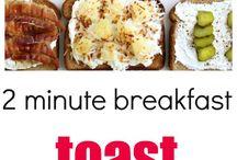 quick school breakfasts