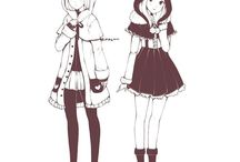 Design anime characters/anime art/characters