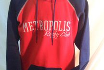 Hoodie Sweatshirts / A sample of Rugby Athletic custom designed hoodie sweatshirts. Some RA brand and some BLK!