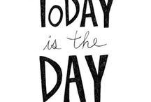 new day, new beginnings