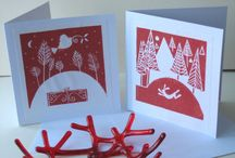 Christmas- Lino stuff