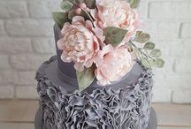 nisan düğün pastası