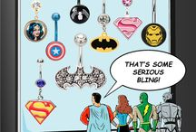 Super Heroes to the Rescue! / From a web crusader to a warrior princess who fights for justice, love, peace, and sexual equality...Belly Bling has them all!