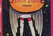 Oracle Card Messages / Messages from Audacious Action Angels Deck. By Lorraine Roe and Helen Michaels http://amzn.to/1Ci1zcL