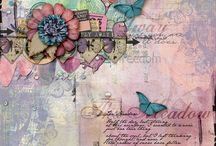 Scrap Pack Layout Examples / Digital Scrapbook layouts created by the Scrap Stacks team. To get this month's Scrap Pack visit: http://scrapstacks.com/scrappack