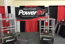 PowerLift / It is great to see how Reechcraft products can help in factories, warehouses, offices, home and the outdoors.