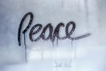 ☮ Peace ☮ / by octobermoon