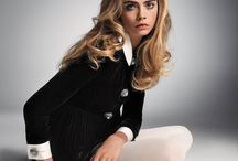 Cara Delevingne's Model Moments / See the model Cara Delevingne in the pages of W Magazine--and off duty. / by W magazine