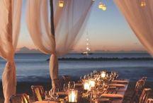 Beach Wedding Lighting