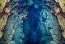 caves, caverns and land formations / by Elmo Siap