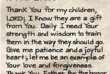 Parents prayer for chikdren