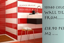 Bathroom Wall Tiles  / A range of Bathroom Wall Tiles from Entirely Tiles. Saving you money on the best quality tiles from around the world.  http://www.entirelytiles.co.uk/bathroom-wall-tiles/