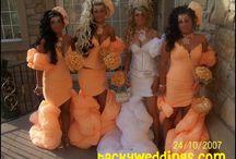 michella's wedding. all class. baby!