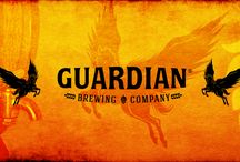 Logos / Guardian Brewing Company's Brand Revealed