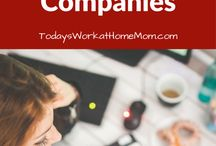 Today's Work at Home Mom Blog / Thinking of working from home? Looking for an at-home job or want to start a home-based business? Or maybe you're already a work at home mom trying to better manage your home and family while building your at-home career? Then you've come to the right place! All our insightful and helpful blog posts for the work at home mom.