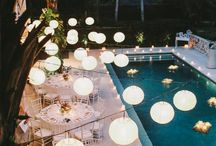 Poolside wedding ideas