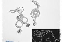 Drátování-inspirace a moje tvoření / Tvoření drátovaných šperků