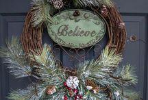 Coronas para festividades y Navidad