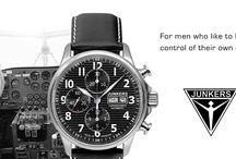 Junkers Watches / Η γοητεία της πτήσης στο χέρι σου…