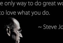 Business Quotes / Encouragement for the go getters!