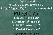 PUSH/pull/legs