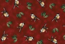 Chirp-Chirp Birds / Beautiful Bird fabrics and wonderful crafting ideas.